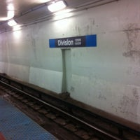 Photo taken at CTA - Division by Chelsey L. on 2/26/2012