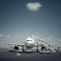Photo taken at Mashhad International Airport (MHD) by Ali K. on 6/18/2012