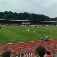 Photo taken at Südstadion by Ralf B. on 7/13/2013