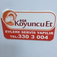 Photo taken at Ege Koyuncu Et Parakende Satış Merkezi by Seren A. on 1/22/2015