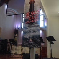 Photo taken at Iglesia Avivamiento by Roberto T. on 3/22/2015