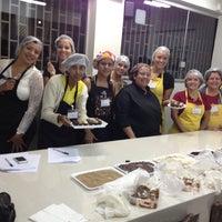 Photo taken at Escola de Gastronomia Kaza Chique by Rosa N. on 7/4/2013