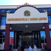 Photo taken at Kantor Imigrasi Kelas I Bandar Lampung by Fitra I. on 11/22/2013