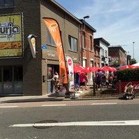 Photo taken at Frituur - Snack Nurja by Jean J. on 7/20/2014