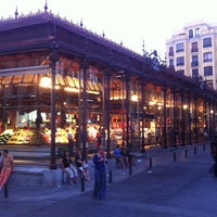 Photo taken at Mercado de San Miguel by Tiago S. on 7/24/2013