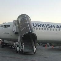 Photo taken at Gate 111 by Yıldırım K. on 9/6/2018
