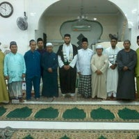Photo taken at Masjid Al-mustaqim R.P.R Kidurong by Cahaya A. on 7/20/2013