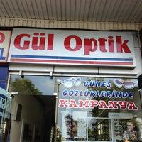 Photo taken at Gül Optik by sezen a. on 7/10/2013