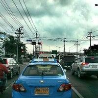 Photo taken at Rong Phayaban Noppharat Intersection by POTTAMAN ® on 8/13/2013