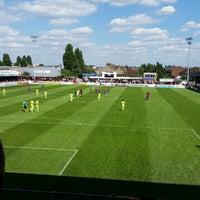Photo taken at The London Borough of Barking & Dagenham Stadium by Sarah T. on 8/6/2016