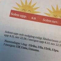 Photo taken at Houtskärs bibliotek by Ulrika W. on 7/4/2018