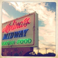 Photo taken at Molina's Midway Restaurant by David H. on 8/5/2013