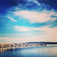 Photo taken at West Arm Grand Traverse Bay by Adam G. on 10/14/2013