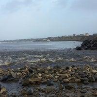 Photo taken at Enniscrone Beach by Luiz Fernando Z. on 1/26/2014