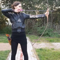 Photo taken at SK Amazones archery summer base by Александр В. on 9/28/2013