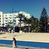 Photo taken at Okeanos Beach Hotel by Ivan P. on 9/28/2013