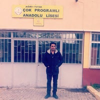 Photo taken at Tutak Lisesi by Fırat S. on 4/21/2015