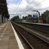 Photo taken at Station Utrecht Overvecht by Bob v. on 7/10/2013