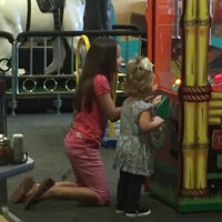 Photo taken at Chuck E. Cheese's by Kerri C. on 10/3/2015