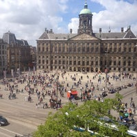 Photo taken at Dam Square by Ron S. on 6/16/2013