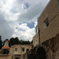 Photo taken at Ex Convento del Desierto de los Leones by Itzel G. on 7/10/2013