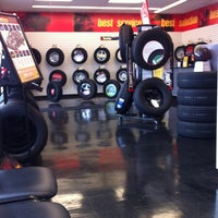 Photo taken at Michel Tires Plus by Jim G. on 10/19/2012