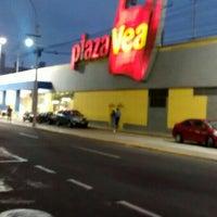 Photo taken at Plaza Vea by Fernando M. on 5/19/2015