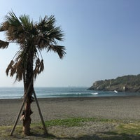 Photo taken at 旗津海水浴場 Cijin Beach by Becky M. on 12/11/2016