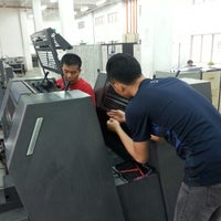 Photo taken at Printing Department, Faculty Of Art And Design (UiTM Shah Alam) by Bard a. on 5/7/2015