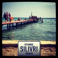 Снимок сделан в Semizkum Beach Silivri пользователем Murat E. 8/5/2013
