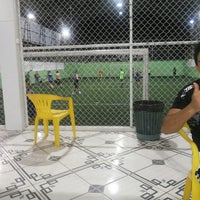 Photo taken at Hamilka Arena Soccer by Edson F. on 7/9/2013