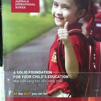 Photo taken at Vietnam Australia International School by Pham M. on 2/18/2013