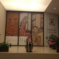 Photo taken at HWAJEONG Museum by Soomin S. on 8/15/2013