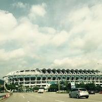 Photo taken at Daejeon Worldcup Stadium by sungsim k. on 7/26/2016