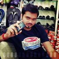 Photo taken at SEENI SHOE STORES by Rajesh V. on 1/15/2014