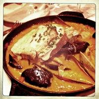 Photo taken at Lavandou Restaurant by Katalin E. on 4/8/2013