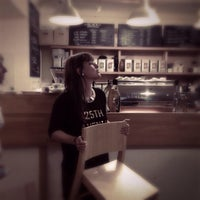 Photo taken at Madal Cafe - Espresso & Brew Bar by Katalin E. on 10/1/2014