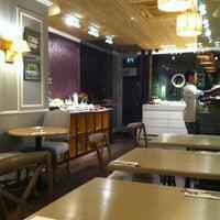 Photo taken at L'ETO Caffe by Christine L. on 1/16/2013