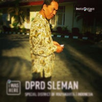 Photo taken at DPRD SLEMAN by Pieta D. on 8/1/2013