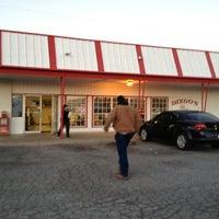 Photo taken at Diego's Burritos by Dan K. on 12/28/2012