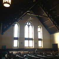 Photo taken at Unitarian Church of Norfolk by Chanelle G. on 8/5/2013