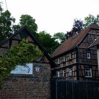 Photo taken at Landgasthof Rote Mühle am Liederbach by Wonseok J. on 5/23/2014