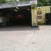 Photo taken at Christy's Tyres by Sabrina L. on 7/5/2013