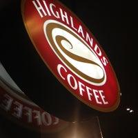 Photo taken at Highlands Coffee by Jennifer B. on 7/20/2013