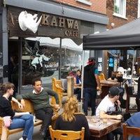 Photo taken at Kahwa Café by malik m. on 6/6/2014