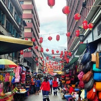 Photo taken at Petaling Street (Chinatown) by Pierre F. on 8/6/2013