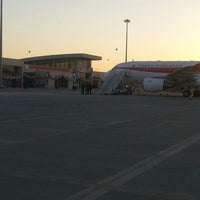Photo taken at Şırnak Şerafettin Elçi Airport (NKT) by Ridvan B. on 7/26/2013