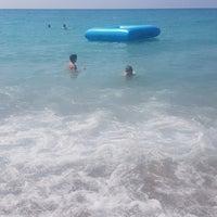 Photo taken at Club Alibey Beach by ♑💫Sinem K. on 8/20/2018