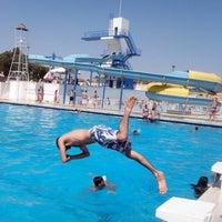 Photo taken at Denizpark Aquapark by Nicat N. on 7/4/2013
