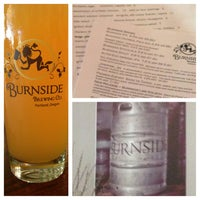 Photo taken at Burnside Brewing Co. by Liz S. on 7/5/2013